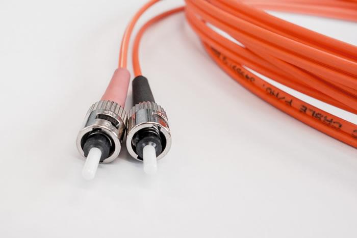 alcuni cavi in fibra ottica